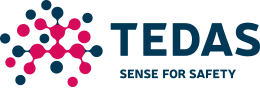 Tedas – Sense for Safety Logo